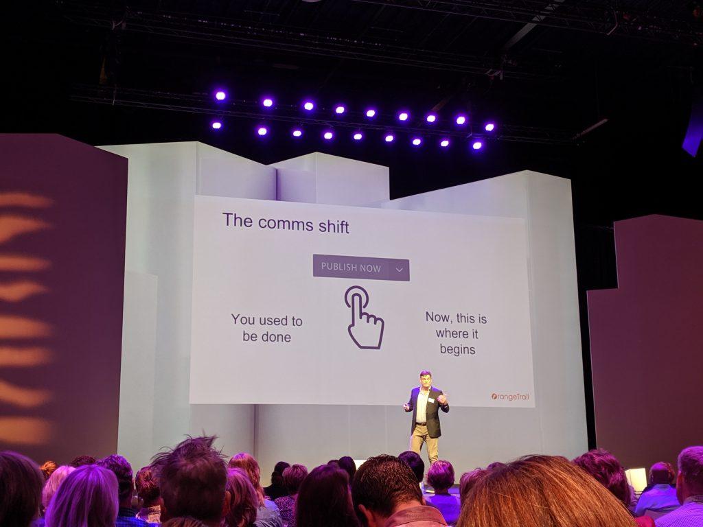 De verandering voor de communicatiemedewerker bij het intranet